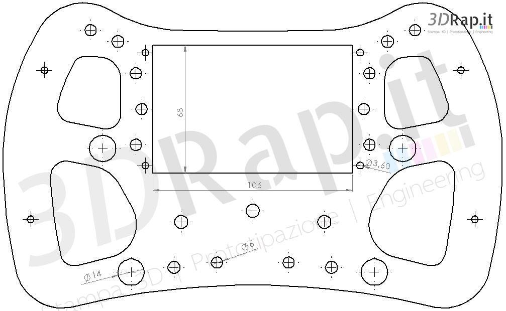 formula 1 steering wheel diagram