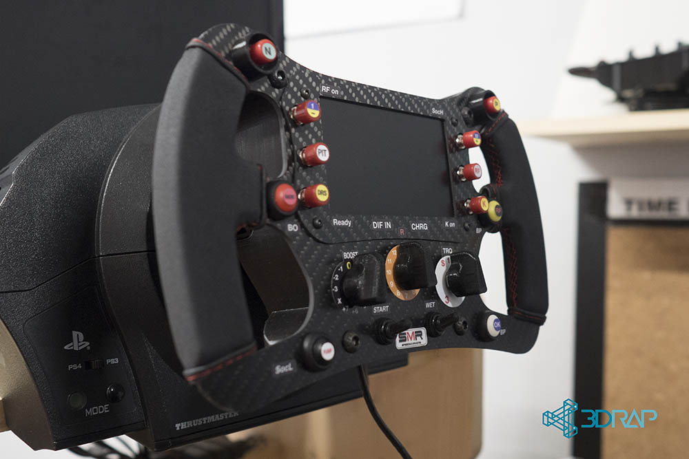 F1 Rim AddON Carbon - Logitech \ Thrustmaster \ OSW - by SpeedMAXRacing