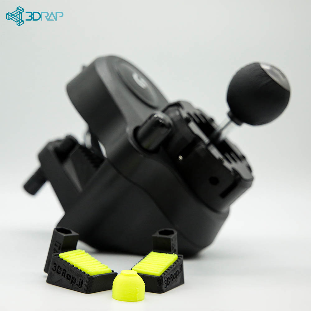 Stronger Clamps for H-Shifter Logitech - MOD G25 / G27 / G29 / G920
