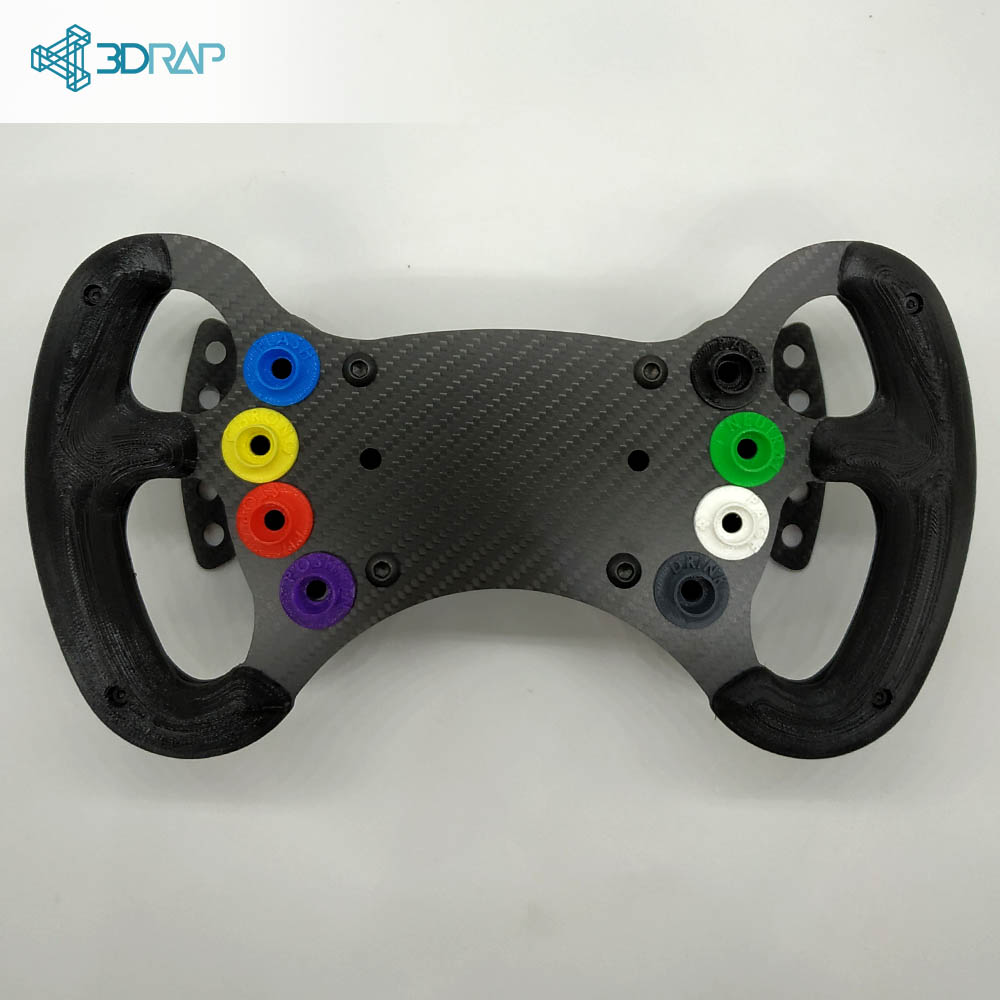 GT3 Steering Wheel KIT by 3DRap - Thrustmaster Logitech and OSW adapters