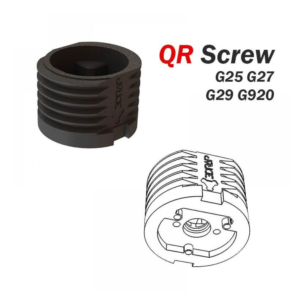 Logitech Racing Wheels Mods 3drap Momo Pedal Wiring Diagram Sale Qr Screw For G25 G27 G29 G920 Dfgt Rims L