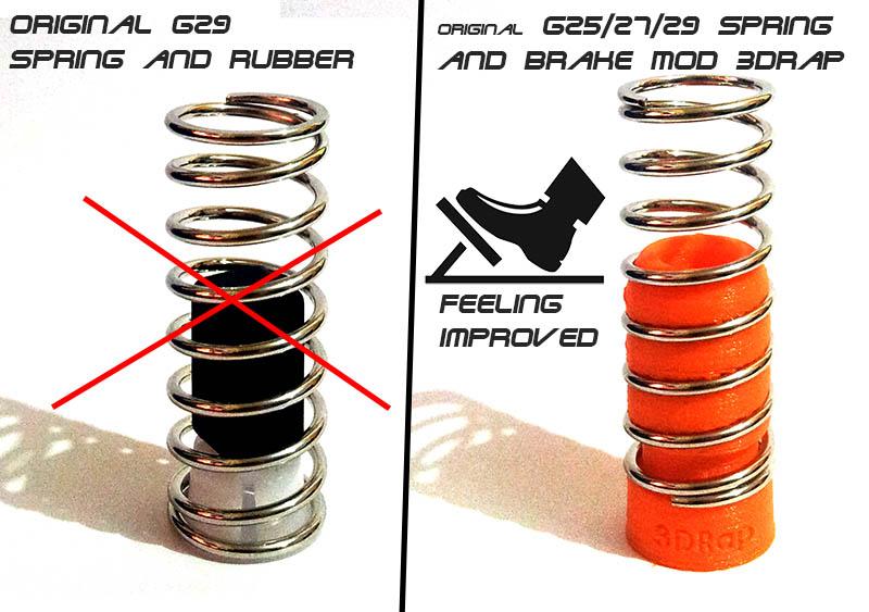 Brake Pedal Mod  U0026quot Rally  Gt U0026quot   U2013 Logitech G25    G27    G29