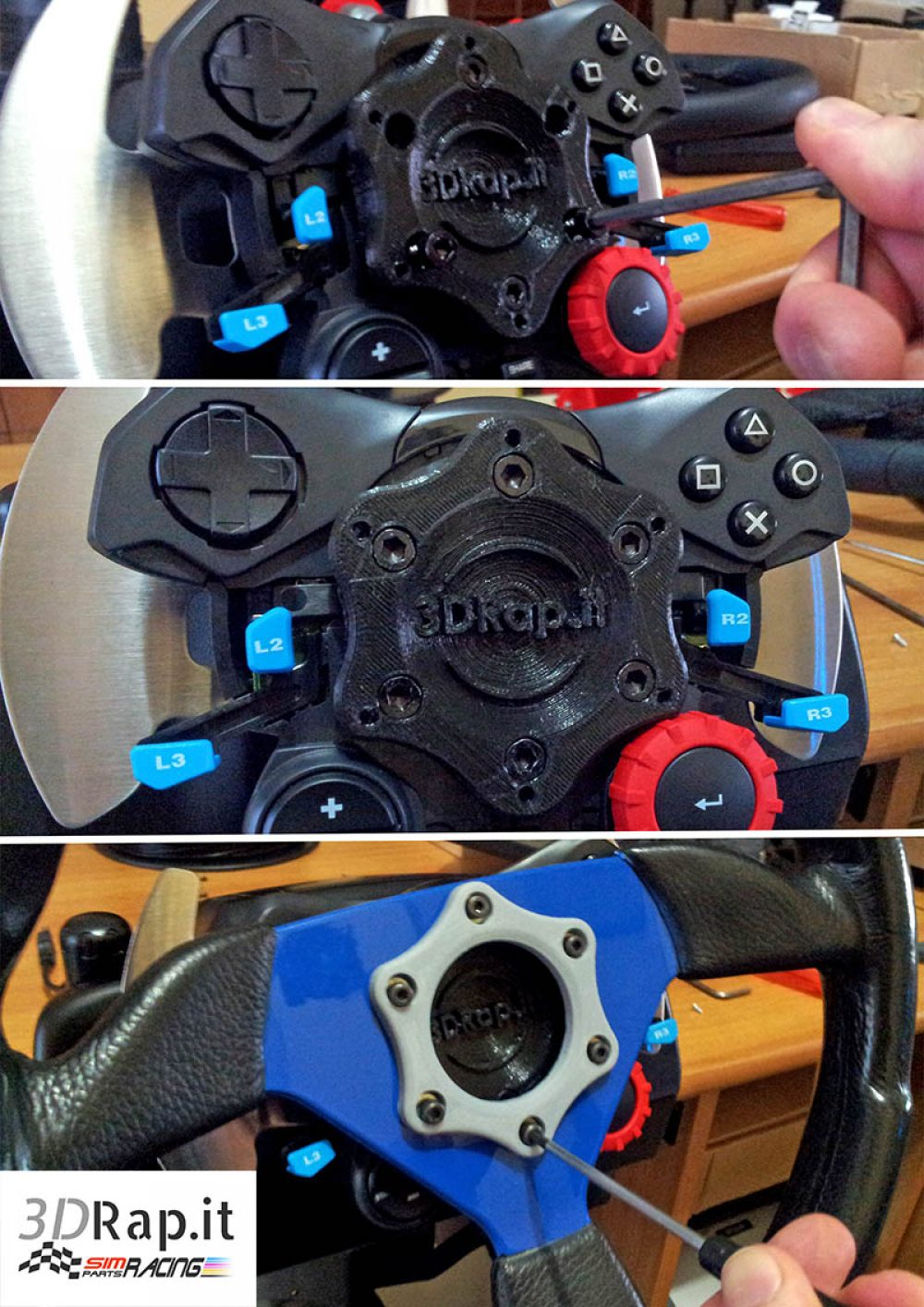 Adapter Mozzo Hub Logitech G29 G920 New 3drap